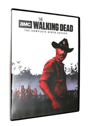 The Walking Dead The Complete Season 9 Ninth 9th FREE 2-3 EXPEDITED SHIPPING