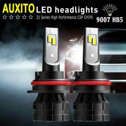 2x AUXITO LED Headlight 9007 HB5 High Low Beam 20000LM Bulbs Cool White 140W Kit $26.99