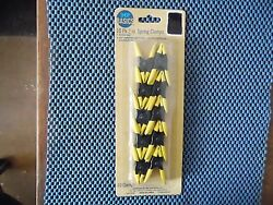 2 Inch Metal Spring Clamps With Vinyl Coated Tips & Handles  - 10 Pack