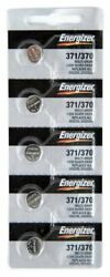 Energizer 371 370 SR920SW 1.55V Silver Oxide Battery BRAND NEW  Genuine 5 Pack $3.99