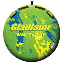 Gladiator Victory Towable Boat Tube 1 Person Brand New