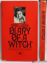 DIARY OF A WITCH signet 1969 first PRINTING sybil LEEK occult