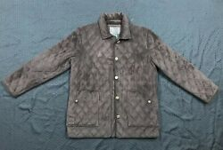 Womans Ralph Lauren RL Jacket Coat Quilted Soft Polyester Brown Size Small