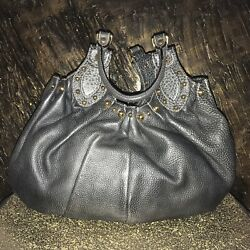 Designer Gucci handbag Pelham Exclusive Light Use Vintage Shoulder Leather Studs