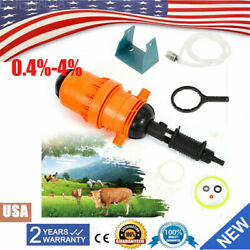 Water driven Injector Fertilizer Injector Dispenser Proportioner 0.4% 4% Device $69.19