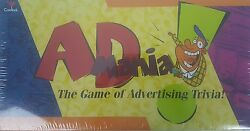 AD MANIA Board Game Advertising Trivia Slogan Commercial Jingl New $18.66