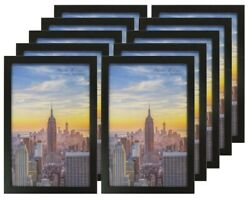 Frame Amo Black Wood Picture Frames or Poster Frames 1 inch Wide 1 3 or 10 PACK $16.95