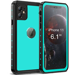 Full Body Protection Heavy Duty Waterproof Shockproof for iPhone 11 Case Cover