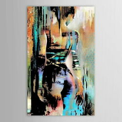 61056 Hand painted Modernism Abstract Nude Girls Decor Wall Print POSTER $16.95