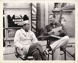 JAMES DUNN Director DAVID BUTLER Original CANDID Vintage HAVE A HEART MGM Photo