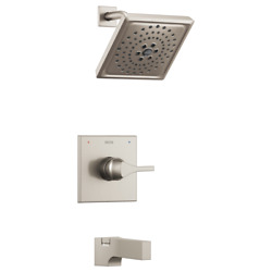 Delta T14474-SS  Zura  H2Okinetic Tub and Shower Trim in Stainless