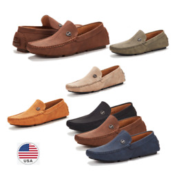 Men's Casual Shoes Breathable Antiskid Slip on Penny Driving Loafers Moccasins