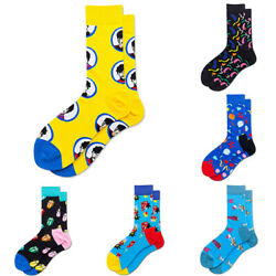 Crazy Casual Warm Dress Fancy Funny Gifts Mens Socks Cotton Novelty $2.87