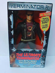 1991 Kenner TERMINATOR 2 Battle Noises light up eyes He Talks Mint in Box