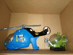 Fisher Price Imaginext DC Batman Helicopter Vehicle No figures $34.99