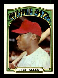 1972 Topps 240-523 EXEX-MT Pick From List All PICTURED