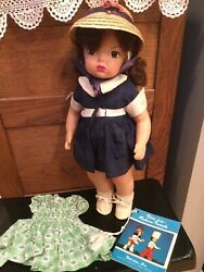 Doll 16quot; Terri Lee with extra dress and booklet 1950s $185.00