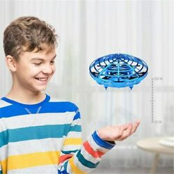 Mini DRONE Quad Induction Levitation UFO Hand Operated Helicopter Toys For Kids $14.99