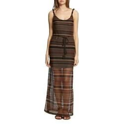 Sanctuary Womens Brown Striped Sleeveless Casual Maxi Dress XS BHFO 6158 $13.99