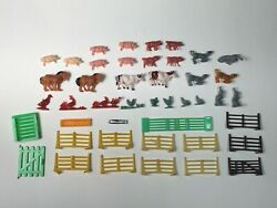 Vintage Vending Gumball Machine Prize Barnyard Animal Horses Cows Pigs Toy Lot $15.00