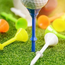 Big Cup 3 1 4quot; Golf Tees Pack Of 60 Durable Tees Multi Color Cups Golfs Sports $10.99
