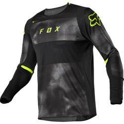 FOX 360 HAIZ JERSEY BLK GREEN $59.95