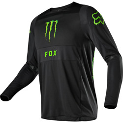 FOX 360 MONSTER PC JERSEY BLK GREEN $69.95