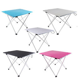 Portable Table Foldable Folding Camping Outdoor BBQ Travel Ultralight Desk $37.49
