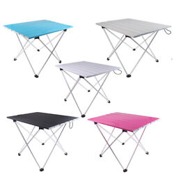 Portable Table Foldable Folding Camping Outdoor BBQ Travel Ultralight Desk $30.41