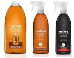 Method Cleaning Products Daily Wood Granite Floor Glass amp; Surface Cleaners ✔️ $22.99