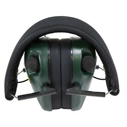 Caldwell E Max Electronic Hearing Protection Ear Muffs Green Polymer 487557 $27.96