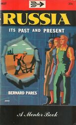 RUSSIA its Past and Present by Bernard Pares PB 1951 C $7.79
