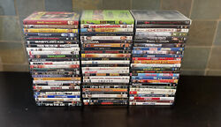 Lot of 70 Used ASSORTED DVD Movies 70 Bulk DVDs Used DVDs Lot Wholesale