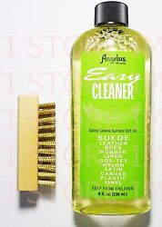 Angelus Easy Cleaner Suede Cleaning Kit Shoe Cleaning kit 8oz With Brass Brush $10.94