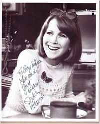 DECEASED ACTRESS JULIE HARRIS  INSCRIBED & SIGNED B&W 8x10 PHOTO
