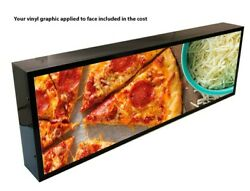 OUTDOOR LED LIGHT BOX SIGN 24