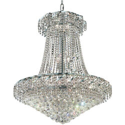 MADE WITH SWAROVSKI CRYSTAL CHANDELIER FOYER DINING ROOM LIGHTING 18 LIGHT 38