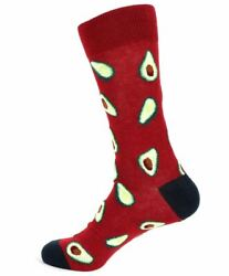 Men#x27;s Avocado Novelty Socks $5.99
