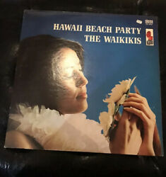 Hawaii Beach Party The Waikikis Sexy Island Exotic Record lp Ex $15.00