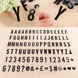 Light box Cinema Replacement For A4 Cinematic Letter Black Color Numbers Symbols