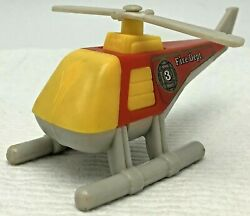 Vintage Tonka 1985 Fire Dept Tonka Helicopter Toy 1980#x27;s $12.95