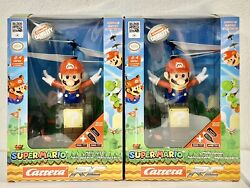 2 Super Mario Nintendo Flying Cape Helicopter RC Remote Control Carrera $49.99