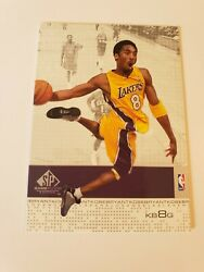 2000 Kobe Bryant SP Game Floor Set #25 Los Angeles Lakers 2000 01 $24.00