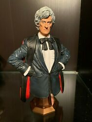 Titan THIRD DOCTOR 3rd Maxi Bust Doctor Who Masterpiece Collection Pertwee $45.00