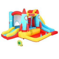 Inflatable Bounce House Kids Big Slide Jumper Castle 450W Blower with Carry Bag $229.99