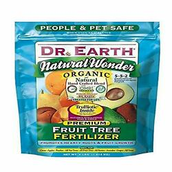 Dr. Earth 708P Organic 9 Fruit Tree Fertilizer In Poly Bag 4 Pound $23.99