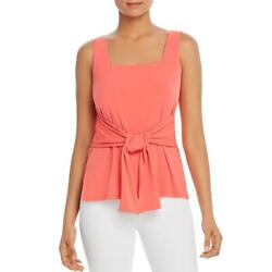Kenneth Cole New York Womens Square Neck Tie Front Tank Top Shirt BHFO 7520 $6.31