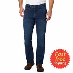 Urban Star Men#x27;s Relaxed Fit Jeans Dark BLUE Select Size * FAST SHIPPING * $23.58