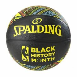 Spalding NBA Black History Month Official Full Size Rubber Logo Basketball $34.95
