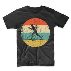 Cross Country Skiing Shirt Vintage Retro Cross Country Skier Men#x27;s T Shirt $29.99